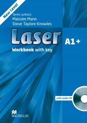 Laser A1+ (3rd Edition) Workbook / key / CD / Робочий зошит