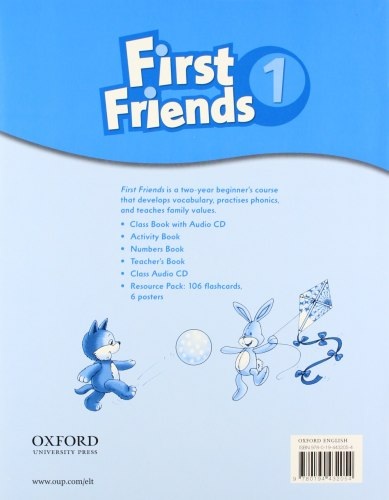 First Friends 1 Numbers Book / Зошит для математичних прописів