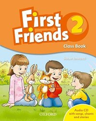 First Friends 2 Class Book with Audio CD / Підручник для учня