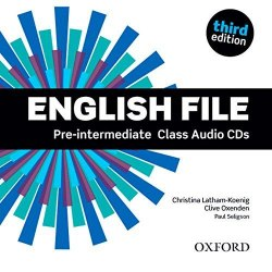 English File (3rd Edition) Pre-Intermediate Class Audio CDs / Аудіо диск
