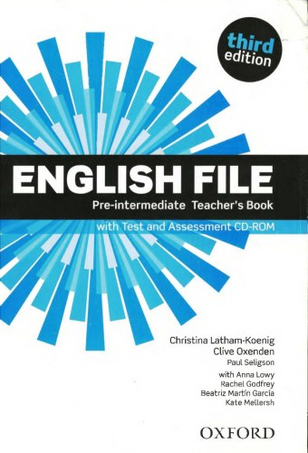 English File (3rd Edition) Pre-Intermediate Teacher's Book with Test and Assessment CD-ROM / Підручник для вчителя
