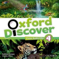 Oxford Discover 4 Audio CDs / Аудіо диск