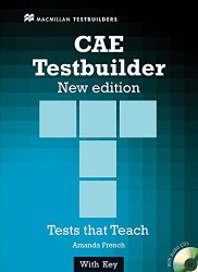 CAE Testbuilder with key and Audio CD