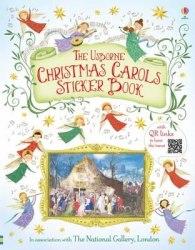 Christmas Carols. Sticker Book / Книга з наклейками