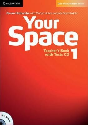 Your Space 1 Teacher's Book with Tests CD / Підручник для вчителя