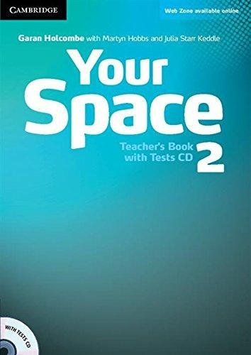 Your Space 2 Teacher's Book with Tests CD / Підручник для вчителя