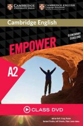 Cambridge English Empower Elementary Class DVD / DVD диск