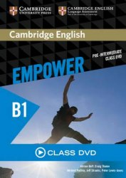 Cambridge English Empower Pre-Intermediate Class DVD / DVD диск