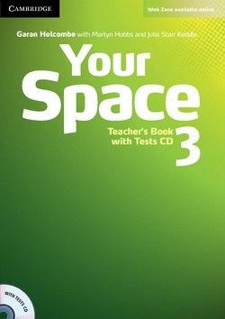 Your Space 3 Teacher's Book with Tests CD / Підручник для вчителя