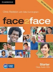 Face2face (2nd Edition) Starter Class Audio CDs / Аудіо диск
