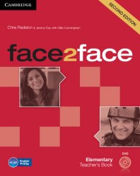 Face2face (2nd Edition) Elementary Teacher's Book with DVD / Підручник для вчителя