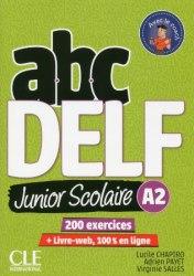 ABC DELF Junior scolaire 2ème édition A2 Livre + DVD + Livre-web