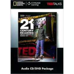 TED Talks: 21st Century Creative Thinking and Reading 1 Audio CD/DVD Package / Медіа пакет