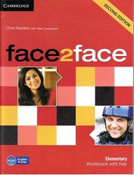 Face2face (2nd Edition) Elementary Workbook with key / Робочий зошит