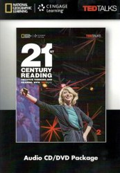 TED Talks: 21st Century Creative Thinking and Reading 2 Audio CD/DVD Package / Медіа пакет