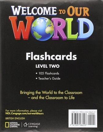Welcome to Our World 2 Flashcards / Flash-картки