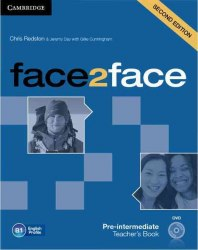 Face2face (2nd Edition) Pre-Intermediate Teacher's Book with DVD / Підручник для вчителя