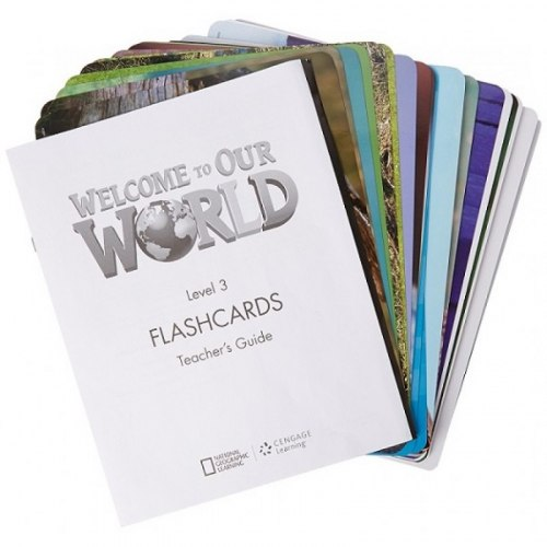 Welcome to Our World 3 Flashcards / Flash-картки