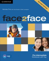 Face2face (2nd Edition) Pre-Intermediate Workbook with key / Робочий зошит
