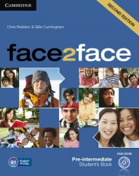 Face2face (2nd Edition) Pre-Intermediate Student's Book with DVD-ROM / Підручник для учня