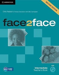 Face2face (2nd Edition) Intermediate Teacher's Book with DVD / Підручник для вчителя