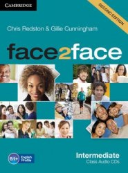 Face2face (2nd Edition) Intermediate Class Audio CDs / Аудіо диск