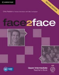 Face2face (2nd Edition) Upper-Intermediate Teacher's Book with DVD / Підручник для вчителя