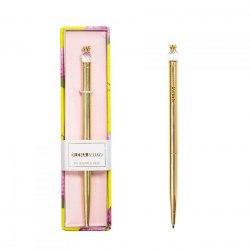 Ручка в подарунковій коробці Crystal Pineapple