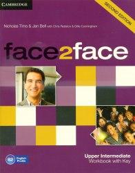 Face2face (2nd Edition) Upper-Intermediate Workbook with key Cambridge University Press