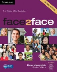 Face2face (2nd Edition) Upper-Intermediate Student's Book with DVD-ROM / Підручник для учня