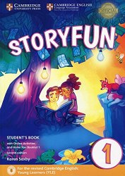 Storyfun Level 1 Student's Book with Online Activities and Home Fun Booklet 1 2nd Edition (Starters) Cambridge University Press