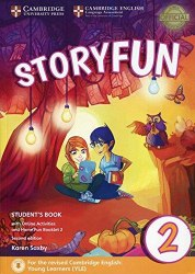 Storyfun Level 2 Student's Book with Online Activities and Home Fun Booklet 2 2nd Edition (Starters) Cambridge University Press