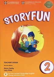 Storyfun 2 (2nd Edition) Starters Teacher's Book with Audio / Підручник для вчителя