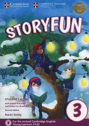 Storyfun 3 (2nd Edition) Movers Student's Book with Online Activities and Home Fun Booklet / Підручник для учня