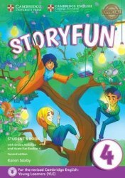 Storyfun 4 (2nd Edition) Movers Student's Book with Online Activities and Home Fun Booklet / Підручник для учня