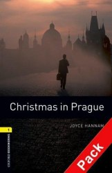 Oxford Bookworms Library 1 Christmas in Prague + Audio CD / Книга для читання