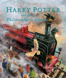 Harry Potter and the Philosopher's Stone Illustrated Edition Bloomsbury Children's