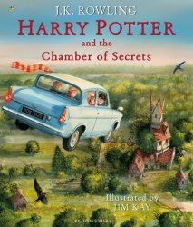 Harry Potter and the Chamber of Secrets Illustrated Edition Bloomsbury Children's