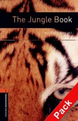 Oxford Bookworms Library 2: The Jungle Book + Audio CD