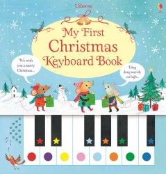 My First Christmas Keyboard Book Usborne Publishing