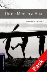 Oxford Bookworms Library 4: Three Men in a Boat + Audio CD