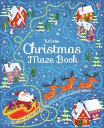 Christmas Maze Book Usborne Publishing
