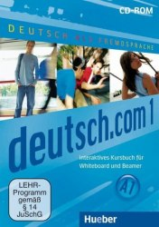 Deutsch.com 1 Interaktives Kursbuch für Whiteboard und Beamer DVD-ROM Hueber