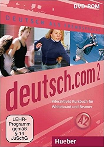Deutsch.com 2 Interaktives Kursbuch für Whiteboard und Beamer DVD-ROM / Ресурси для інтерактивної дошки