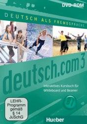 Deutsch.com 3 Interaktives Kursbuch für Whiteboard und Beamer DVD-ROM / Ресурси для інтерактивної дошки