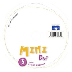 Mini DaF 3 CD / Аудіо диск