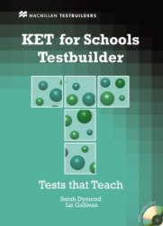 KET for Schools Testbuilder with key and Audio CDs