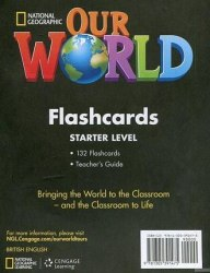 Our World Starter Flashcards / Flash-картки