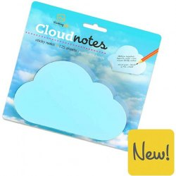 Cloud notes pad / Стікери