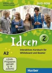 Ideen 2 Interaktives Kursbuch DVD-ROM für Whiteboard und Beamer Hueber